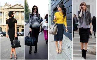 Такие разные черные юбки (50 фото) — С чем носить и как сочетать?