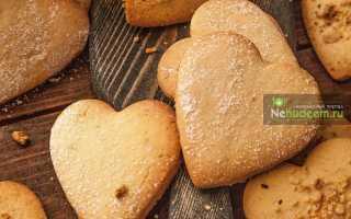 Песочное тесто для печенья домашнего
