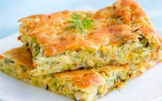 Пирог с капустой просто и быстро – рецепт приготовления капустника