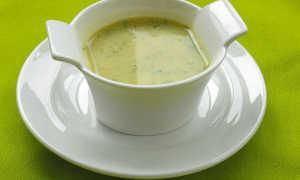 Суп-пюре из кабачков – приготовление диетического блюда