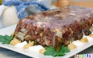 Заливное из мяса – популярные рецепты приготовления блюда из говядины, свинины и курицы с фото