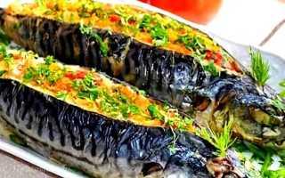 Скумбрия в духовке зпеченная с картофелем и овощами – рецепты приготовления с фото и видео