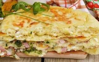 Сырные лепешки за 5 минут с начинкой: приготовление