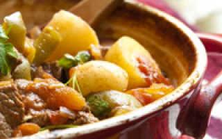 Жаркое по-домашнему: как приготовить вкусное блюдо, фото