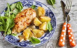 Куриная грудка с картошкой в духовке: как запечь вкусное блюдо