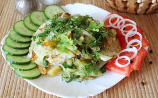 Жареная картошка с луком: как вкусно приготовить