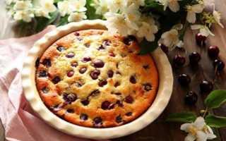 Клафути – французский пирог