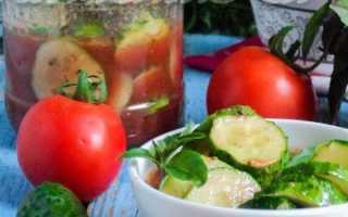 Салат из огурцов по-грузински на зиму – с перцем, чесноком и томатами