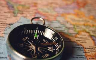 Как правильно пользоваться компасом туристическим, военным, геологическим или программой на телефоне, видео-урок