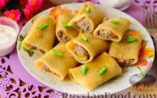Фаршированные макароны: как приготовить в духовке