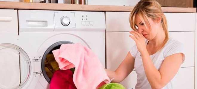 Что делать, если постиранное белье плохо пахнет