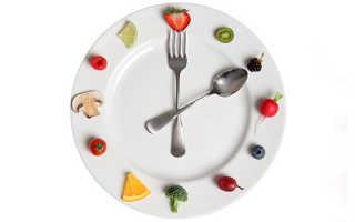 Правильный режим питания и распорядок дня – часы приема пищи и интервалы между едой
