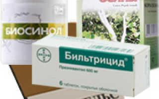 Лечение описторхоза – схема приема лекарственных препаратов, диета и физиотерапия