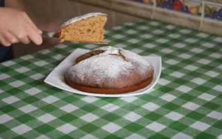 Как приготовить вкусный пирог на кефире с вареньем