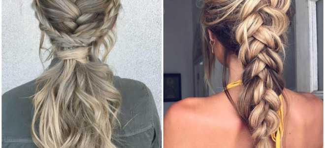 Плетение кос на средние волосы – схемы, пошаговые масстер классы с фото и видео