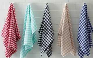 Как отбелить кухонные полотенца в домашних условиях, чем быстро отстирать пятна – средства в помощь хозяйке