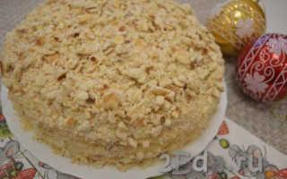 Торт на сковороде со сгущенкой: как приготовить крем и коржи