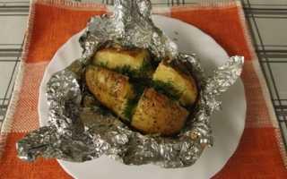 Картошка в фольге в духовке: рецепты с фото