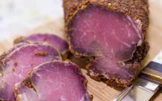 Бастурма из говядины в домашних условиях – рецепты приготовления с фото и видео