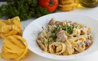 Фетучини как правильно сварить с мясом, грибами, творогом и различными соусами