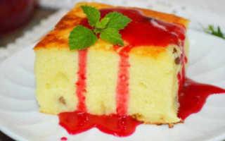 Запеканка творожная с манкой в духовке: как приготовить вкусно