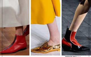 Обувь: горячие тренды осени 2020!