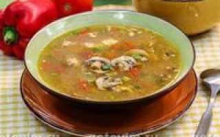 Суп из вешенок: приготовление
