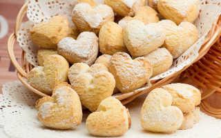 Печенье на маргарине домашнее