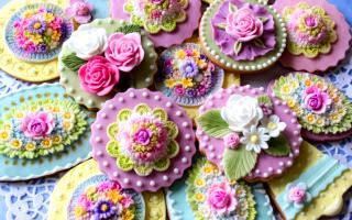 Глазурь для печенья цветная, белая или шоколадная – как приготовить по рецептам с фото и украсить