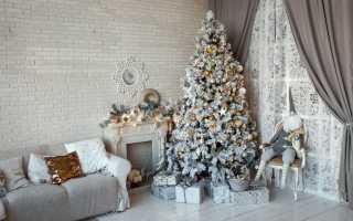 Как украшать новогоднюю елку в год Белой Крысы