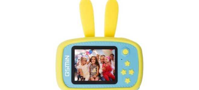 Детская игровая камера GSMIN Fun Camera