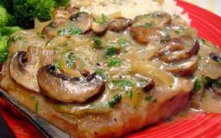 Мясо с грибами в духовке: как приготовить