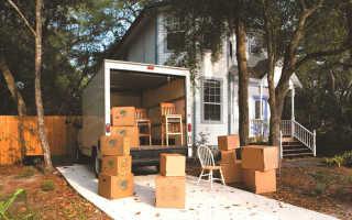 Сезонный переезд. Советы, как переехать на дачу с кучей вещей из города