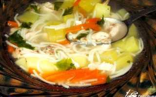 Вермишелевый суп с курицей: как сварить вкусное первое блюдо, фото и видео