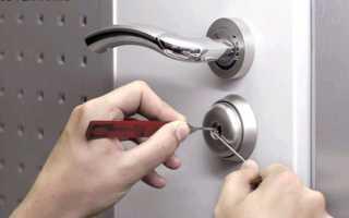 Как открыть дверь без ключа – вскрыть замок