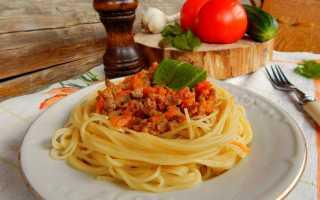 Паста болоньезе – пошаговые рецепты приготовления с фото