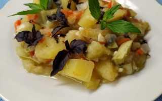 Как приготовить рагу из кабачков и картошки в мультиварке: пошаговые рецепты