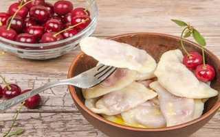Тесто на вареники с вишней – как приготовить по вкусным рецептам на воде, молоке или кефире с фото