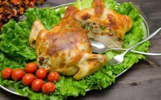 Фаршированная курица – как приготовить и чем начинить для запекания по рецептам с фото