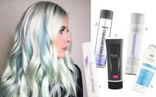 Оттеночные шампуни для волос: палитра цветов, отзывы