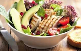 Низкокалорийные продукты для похудения – таблица: рацион питания и блюда