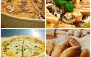 Курица с грибами в духовке: как приготовить вкусно, фото
