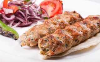 Люля-кебаб из говядины на мангале – пошаговые рецепты с фото
