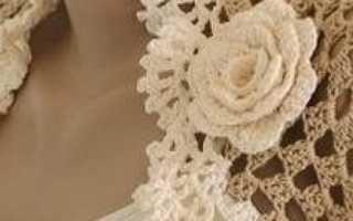 Болеро крючком для девочек и женщин – описание технологии вязания, ажурные модели