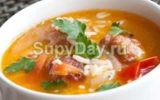 Суп со свининой: приготовление с фото