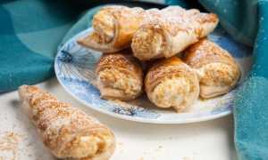 Крем для вафельных трубочек: рецепт заварной, белковой и творожной начинки