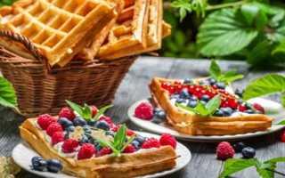 Бельгийские вафли – как приготовить тесто по рецептам с фото и испечь в духовке или вафельнице