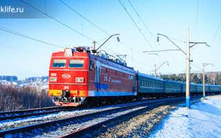 Что взять с собой в поезд: список необходимого для поездки