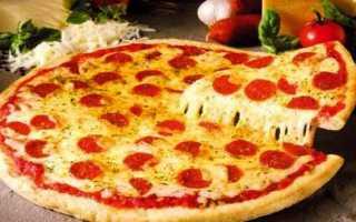 Пицца в микроволновке – как быстро сделать тесто или приготовить на готовой основе