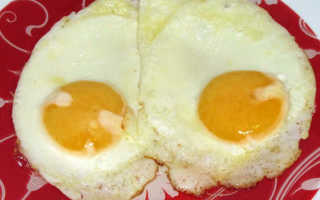 Польза и вред яичницы на завтрак, при похудении или для детей – как правильно приготовить